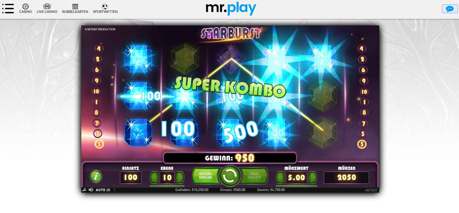 MrPlay spielen