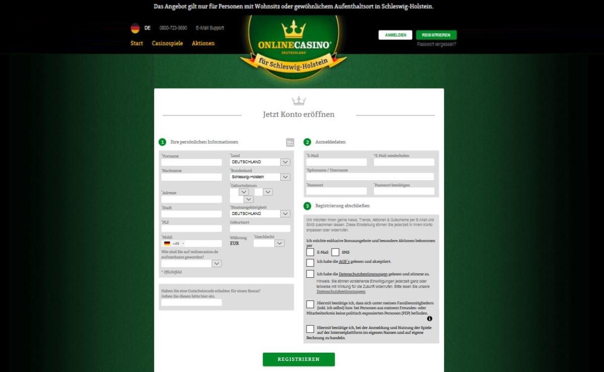 online casino deutschland anmeldung