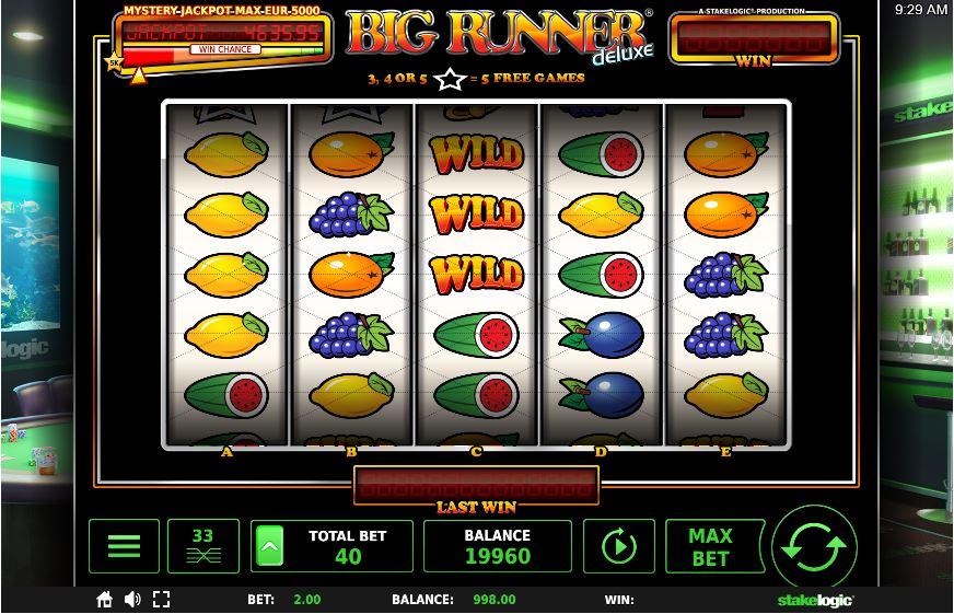 Spiele Big Runner Deluxe Jackpot - Video Slots Online