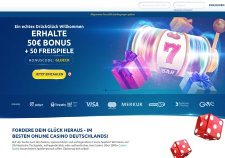 Drück Glück Online Casino