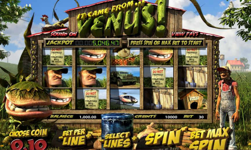 Spiele It Came From Venus - Video Slots Online