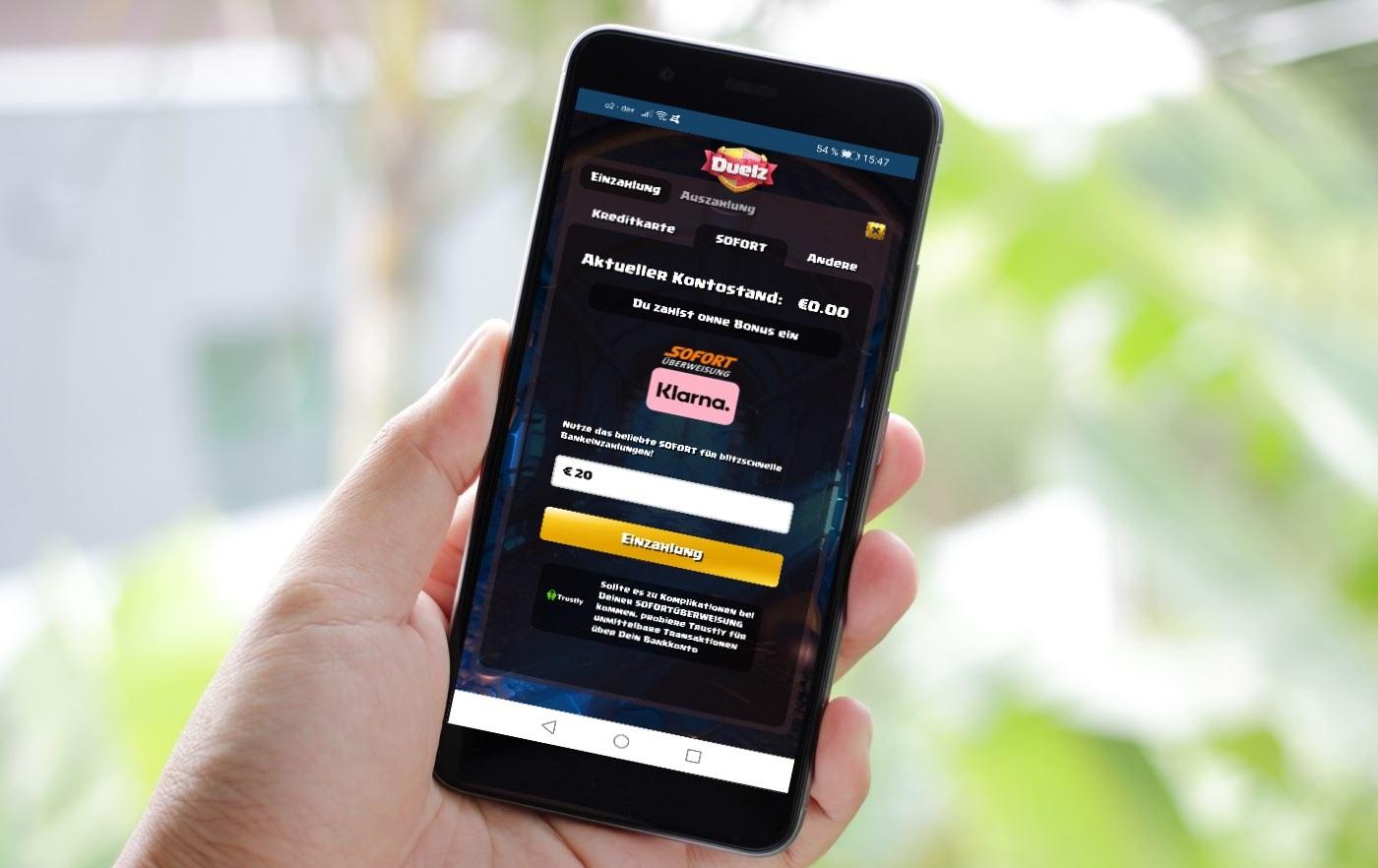 duelz online casino anmeldung